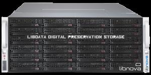 Imagen en alta resolución de libdata, cabina de almacenamiento para preservación digital